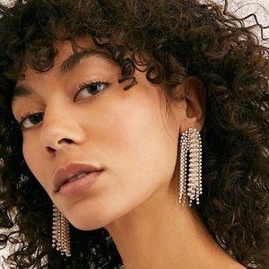 🆕 NWT Free People Serafina statement Earrings